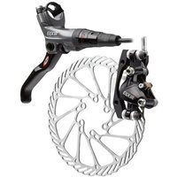 Avid Elixir CR (X9) Disc Brakes with G3CS Rotor  - 2012 Gray/ Black