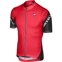 Castelli Entrata 3 Cycling Jersey - Red