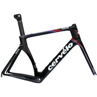 Cervelo S5 Team Frameset - Black/Red