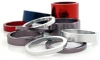 1 1/8 Inch Spacer Set by Chris King