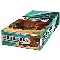 Clif Bar Builder's Chocolate Protein Bar - 12x 50g Box