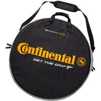 Continental Black Chili Double Wheelbag