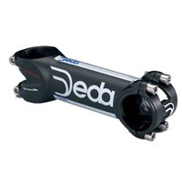 Deda Zero 100 Road Stem - Black with Service Course with Ti Hardware