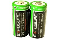 EXPOSURE CR123A Lithium  Batteries