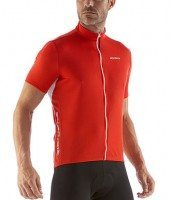 Solid Sport A650 Jersey - Red by Giordana