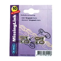 Missing Link 10 Speed Connecting Link - Pack 2 Shimano & KMC Compatible by KMC