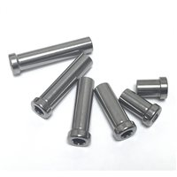 Lightening Bolts Titanium Brake Nut