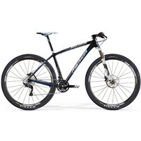 Merida Big Nine Carbon XT-M 29er Hardtail - UD Carbon/ White/ Blue - 2013