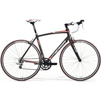 Merida Ride Lite 90 - Silk Black/ Red/ White