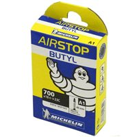 Airstop A1 Butyl Inner Tube - 700c X 18-25mm by Michelin