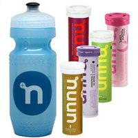 NUUN Active Hydration Drink - 5 x 12 Tablets & Water Bottle
