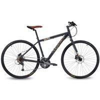Ridgeback Dual Track X2.3 Trail/ Commuting Bike - Matte Black