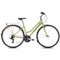 Ridgeback Speed Ladies Hybrid Bike - Lime Green