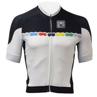 Santini UCI Fashion Full Zip Jersey - Black