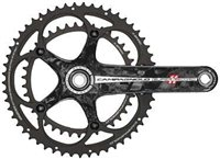 Campagnolo Super Record 11sp 39/53T Crankset - With Steel Axle