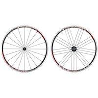 Campagnolo Khamsin Clincher Wheelset - 2014 Black/Red