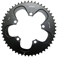 Red Chainring - 130 BCD- 53T by SRAM