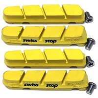 SwissStop Flash Pro  Brake Pads For Shimano/ SRAM - Yellow