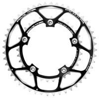 TA Hegoa Outer Chainring For Shimano - 130 BCD Black