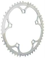 TA Middle Chainring For Campagnolo 9/ 10sp - 135 BCD Silver