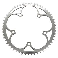 TA Vento Outer Chainring For Campagnolo 9/10sp - 135 BCD Silver