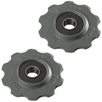 Tacx T4020 Stainless Bearing Pulleys - Campag 8/9/10 + Shimano 7/8 Speed