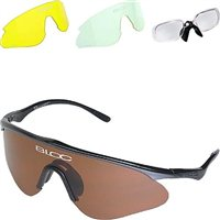 Bloc Stealth W01 Multi Lens Sunglasses With Prescription Insert - Black