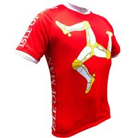 Foska Isle of Man Jersey - Red