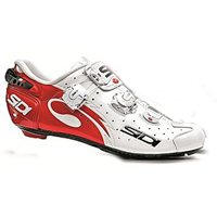 Sidi Wire Carbon Vernice Cycling Shoes - Red White