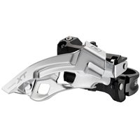 Shimano XT M780 10 Speed Triple Front Derailleur - Low Clamp Dual-Pull