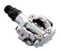 Shimano M520 Mountain Bike SPD Pedals - Silver