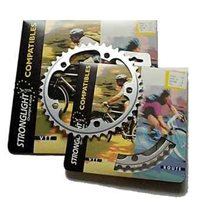 Stronglight Stronglight 110PCD 5083 Series 5-Arm Road Silver Chainrings - outer