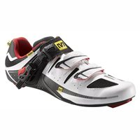 Mavic Avenge Road Shoe - White / Bright Red / Black