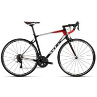 Cube Attain GTC Road Bike 2016 - Carbon N Red