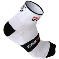 Rosso Corsa 6 Socks by Castelli
