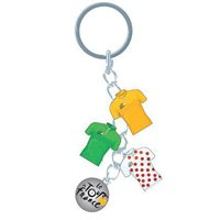Tour de France Charms Keyring