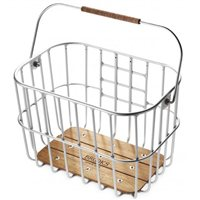 Brooks Hoxton Wire Basket With Handlebar Mount