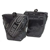 Ortlieb Back Roller Black n White 40L Waterproof Pannier Pair With QL2.1 Mounting System