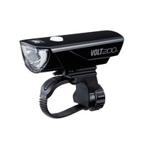 Cateye Volt 200 USB Rechargeable Head Light - EL151RC - 200 Lumen