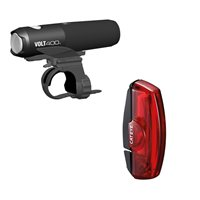 Cateye Volt 400 & Rapid X2 USB Rechargeable Light Set -