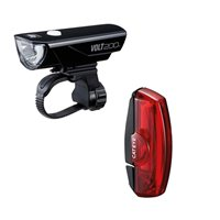 Cateye Volt 200 & Rapid X USB Rechargeable Lightset