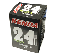 Kenda 24 Inch Bicycle Inner Tube - (24x 1.75-2.125)