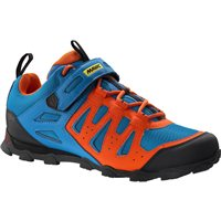Mavic Crossride Elite MTB Shoe - Blue / Orange - 2016