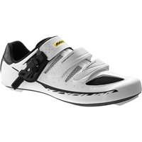 Mavic Ksyrium Elite II Road Shoe - White / Black - 2016
