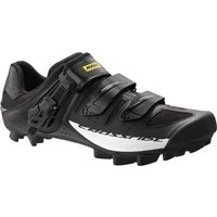 Mavic Crossride SL Elite Cross Country MTB Shoe - Black / White - 2016