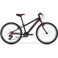 Merida Matts 24 Kids Inch Hardtail - Black / Red