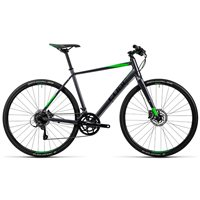 Cube SL Road Pro - Grey Black Flash Green - 2016