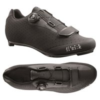 Fizik R5B Boa Road Cycling Shoes - Black-Dark Gray