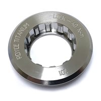 Royce Titanium Lockring For 9-Speed Campagnolo Hubs - 26.0mm Thread