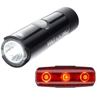 Cateye Volt 100 XC Front And Rapid Micro Rear Light Set